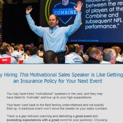 Motivational Speaker Copywriting